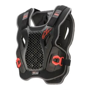 ALPINESTARS 2021 BIONIC ACTION CHEST PROTECTOR BLACK/RED