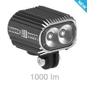 LEZYNE EBIKE MACRO DRIVE 1000 LED - BLACK
