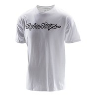 TROY LEE DESIGNS SIGNATURE TEE WHITE