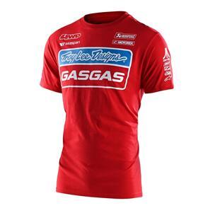 TROY LEE DESIGNS TLD GASGAS TEAM TEE RED