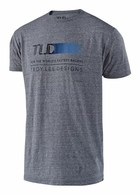 TROY LEE DESIGNS WIRED TEE VTG GRAY SNOW