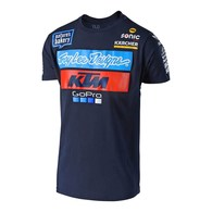 TROY LEE DESIGNS TLD KTM TEAM TEE NAVY 1