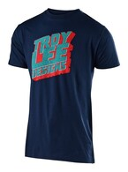 TROY LEE DESIGNS BLOCK PARTY TEE NEW NAVY