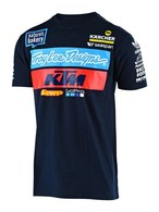 TROY LEE DESIGNS TLD KTM TEAM TEE NAVY