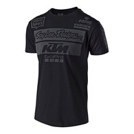 TROY LEE DESIGNS TLD KTM TEAM TEE BLACK