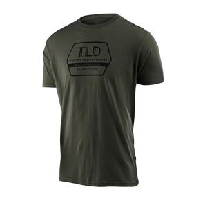 TROY LEE DESIGNS FACTORY TEE SURPLUS GREEN
