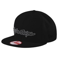 TROY LEE DESIGNS CLASSIC SIGNATURE HAT BLK/GRAY