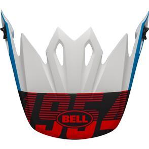 BELL MOTO HELMETS MX-9 VISOR STRIKE VISOR BLUE