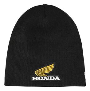 TROY LEE DESIGNS TLD HONDA RETRO WING BEANIE BLACK