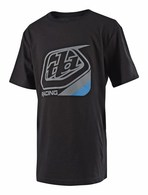 TROY LEE DESIGNS YOUTH PRECISION TEE BLACK/BLUE