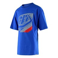 TROY LEE DESIGNS YOUTH PRECISION TEE ROYAL
