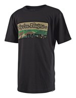 TROY LEE DESIGNS YOUTH CAMO LEVEL TEE BLACK