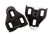 LOOK CLEATS DELTA BLACK OEM PACK WITHOUT SCREWS 0 DEGREE FLOAT