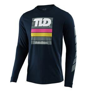 TROY LEE DESIGNS PREGAME L/S TEE NAVY