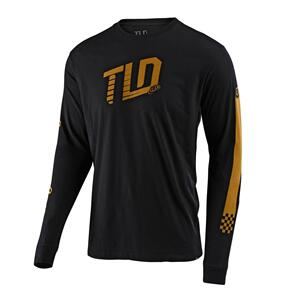 TROY LEE DESIGNS TRACKSIDE L/S TEE BLACK