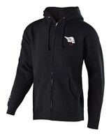 TROY LEE DESIGNS SKULLY ZIP UP BLACK