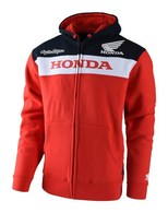 TROY LEE DESIGNS HONDA ZIPUP FLEECE RED