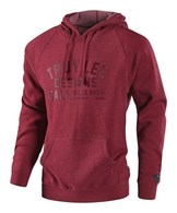 TROY LEE DESIGNS PODIUM PULLOVER CRIMSON HTR