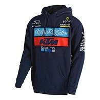 TROY LEE DESIGNS TLD KTM TEAM PULLOVER FLEECE NAVY