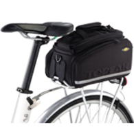 TOPEAK TRUNK BAG MTS DXP STRAP ON W/EXPLANDABLE PANNIERS 22.6L