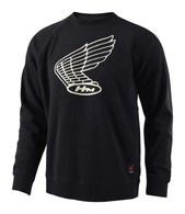 TROY LEE DESIGNS HONDA WING CREW PULLOVER BLACK
