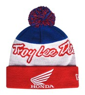 TROY LEE DESIGNS HONDA VTG POM BEANIE RED OSFA