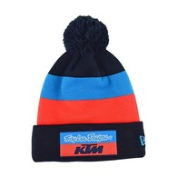 TROY LEE DESIGNS TLD KTM TEAM POM BEANIE BLOCK NAVY