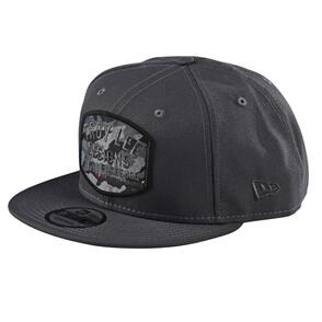 TROY LEE DESIGNS BLOCKWORKS CAMO SNAPBACK GRAPHITE