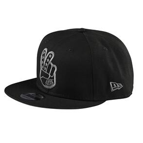 TROY LEE DESIGNS PEACE SIGN SNAPBACK BLACK