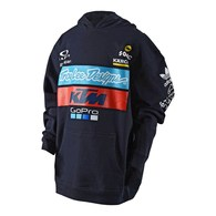 TROY LEE DESIGNS YOUTH TLD KTM TEAM PULLOVER NAVY 1