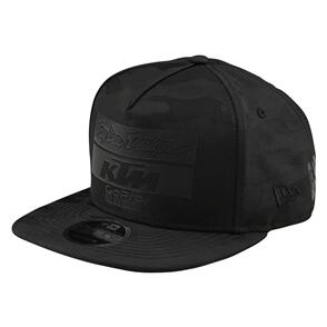 TROY LEE DESIGNS TLD KTM TEAM SNAPBACK LTD CAMO BLACK