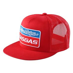 TROY LEE DESIGNS TLD GASGAS TEAM SNAPBACK STOCK HAT RED
