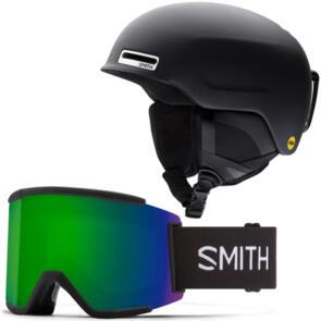 SMITH 2022 MAZE-MIPS HELMET + SQUAD XL GOGGLES COMBO
