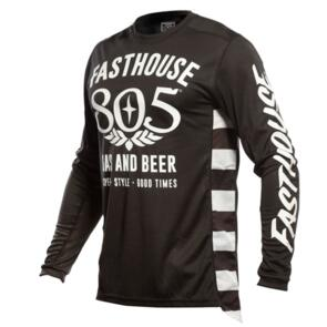 FASTHOUSE GRINDHOUSE 805 GAS AND BEER JERSEY BLACK