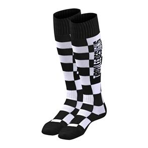 TROY LEE DESIGNS 2021 GP MX COOLMAX THICK SOCK CHECKERS BLACK