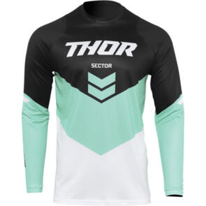 THOR 2022 SECTOR YOUTH CHEVRON JERSEY BLACK/MINT