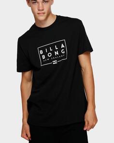 BILLABONG NZ STACKER II TEE BLACK