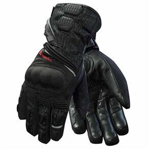 RJAYS BOOSTER MEN'S LEATHER & POLYESTER GLOVES