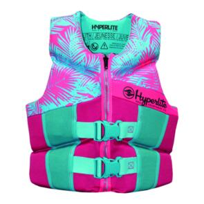HYPERLITE 2020 YOUTH GIRLS NEO VEST PINK BLUE