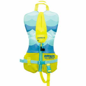 HYPERLITE 2020 INFANT NEO VEST NEON YELLOW LIGHT BLUE