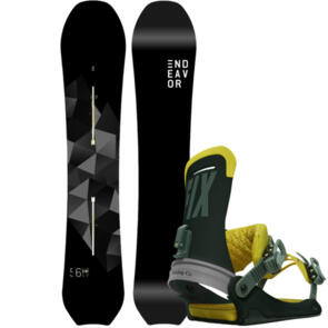 ENDEAVOR SNOWBOARDS 2021 SCOUT YALE PACKAGE