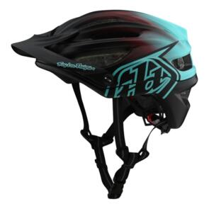 TROY LEE DESIGNS 2020 A2 AS MIPS STAIN'D BLACK / TURQUOISE