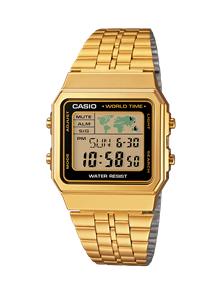 CASIO GOLD WORLDTIME VINTAGE DIGITAL WATCH