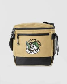 THE MAD HUEYS GOOD DAY FOR IT ESKY COOLER BAG TAN