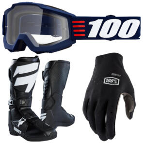 SHIFT WHIT3 LABEL + ACCURI GOGGLES & STING GLOVES PACK