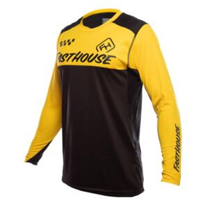 FASTHOUSE ALLOY BLOCK LONG SLEEVE JERSEY YELLOW/BLACK