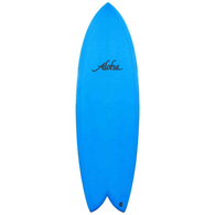 """ALOHA KEEL TWIN PU FCSII BLUE 5'10""""X20 3/4""""X2 1/2"""" 36.88"""