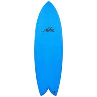 """ALOHA KEEL TWIN PU FCSII BLUE 6'0""""X21""""X2 5/8"""" 40.16L"""