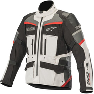 ALPINESTARS 2020 ANDES PRO DRYSTAR JACKET TECH-AIR COMPATIBLE LIGHT GRAY RED