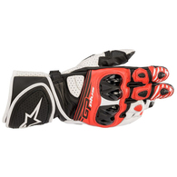 ALPINESTARS 2020 GP PLUS R V2 GLOVES BLACK/WHITE/BRIGHT RED